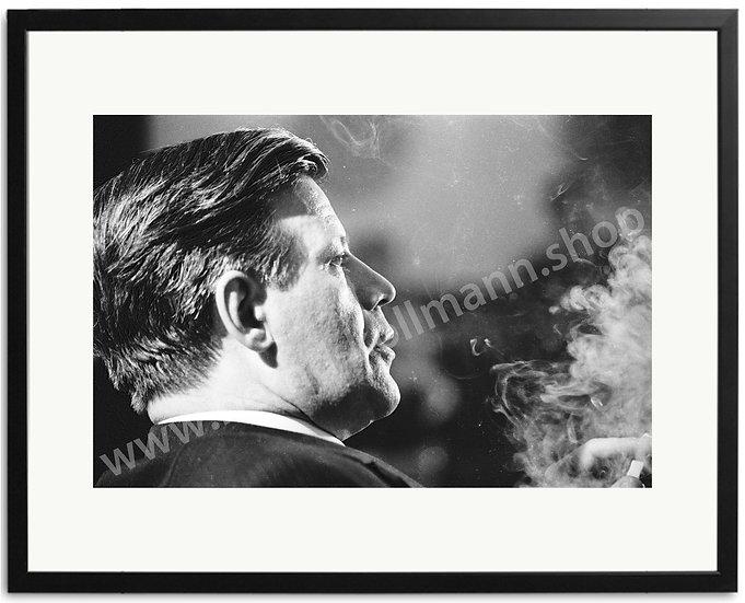 Helmut Schmidt - Rauchwolke