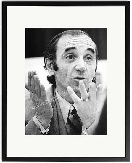 Charles Aznavour - Pressekonferenz
