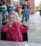 Hotdog at Fall Festival