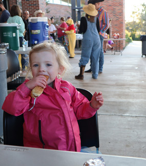 Hotdog at Fall Festival