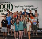 Volunteering at the Regional Food Bank