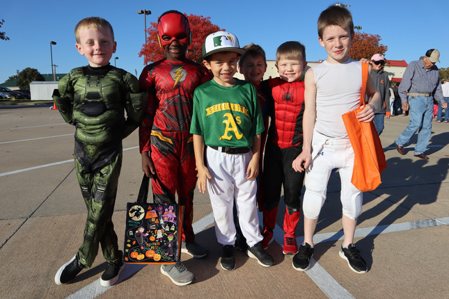 Trunk or Treat at the Fall Festival