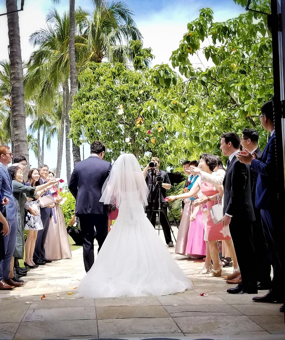 Hawaiian Wedding Elopement