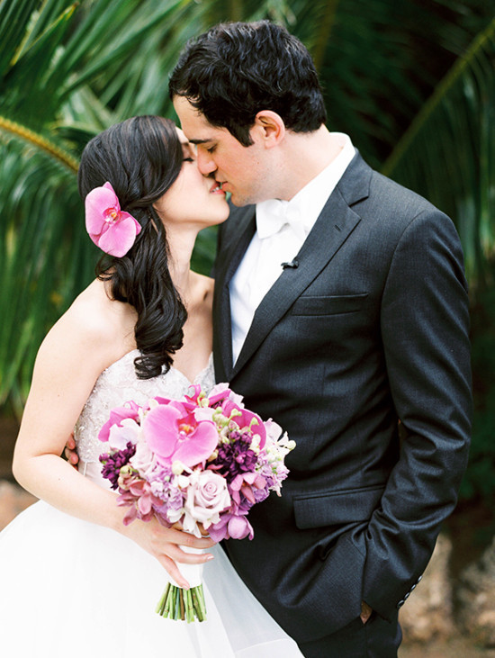 Loulu Palm Estate Hawaii Destination Wedding
