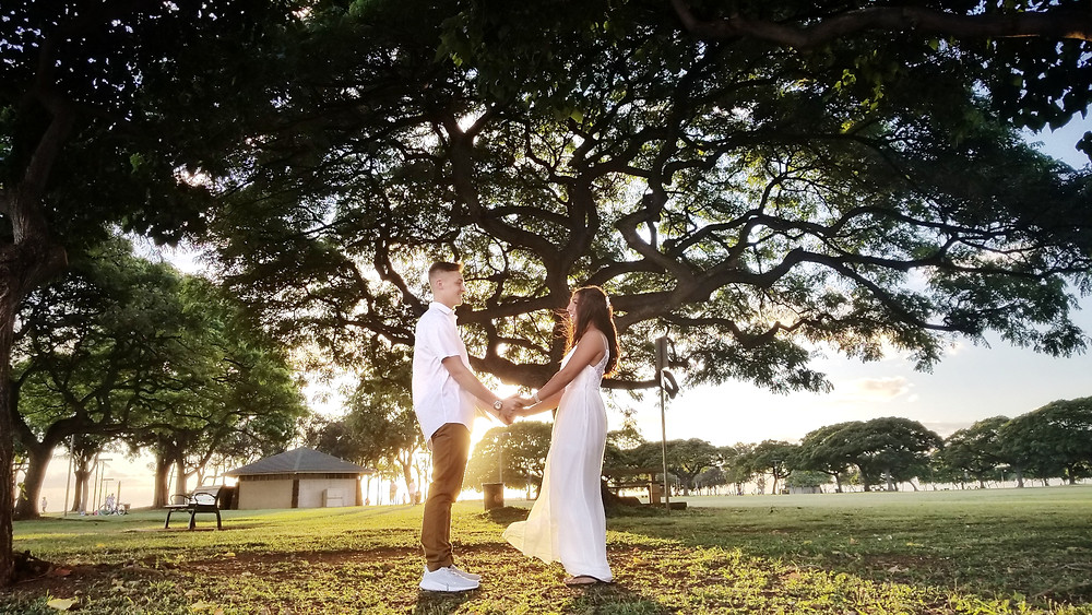 Hawaii Courthouse Marriage on the Beach