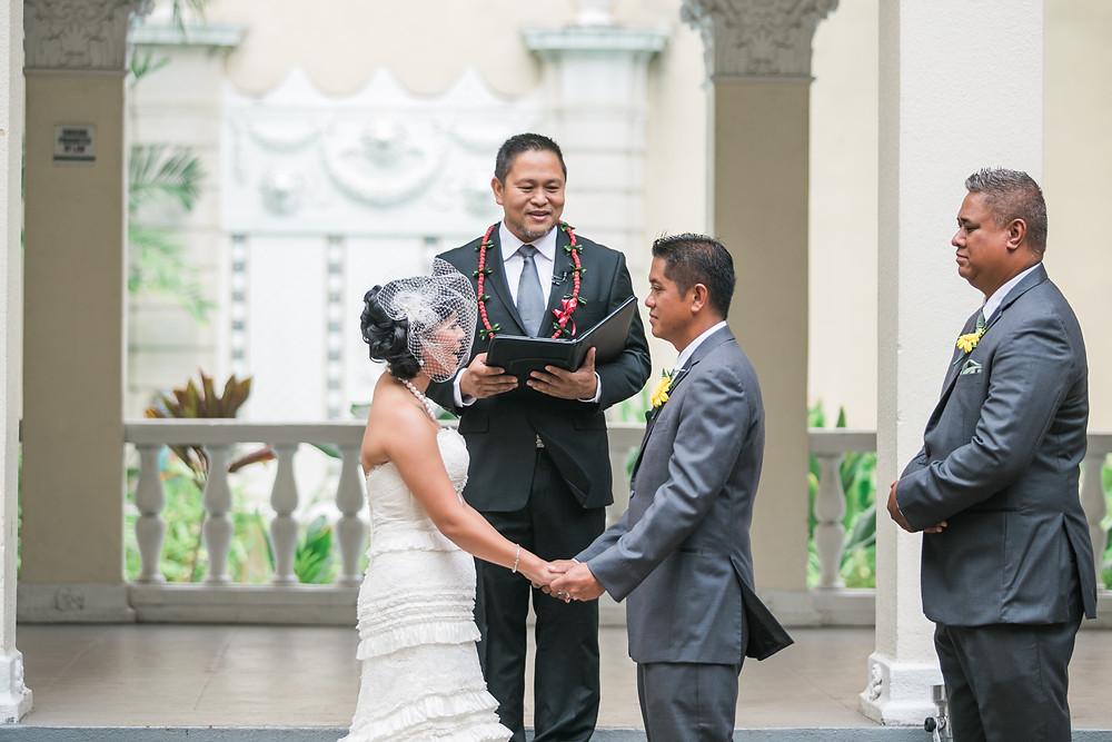 A Traditional Wedding in Hawaii