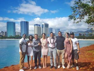 The Honolulu Skyline Wedding