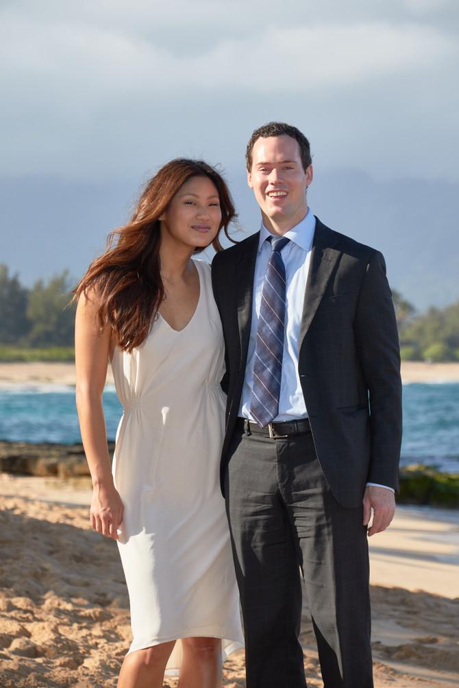 Private North Shore Beach Wedding