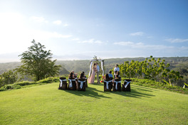 Manana Hills Estate - Elopement on the grand lawn