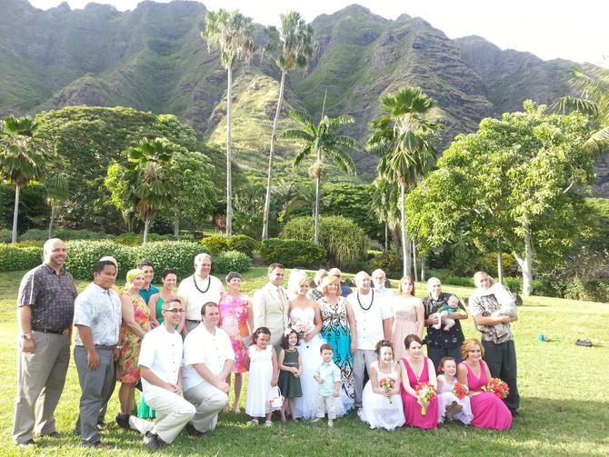 Hawaii Wedding Minister and Officiant  :  Kualoa Ranch Wedding : Jamie & Grant