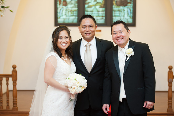 Hawaii Wedding Minister and Officiant  :  Kristie and Darrin at Anela Chapel