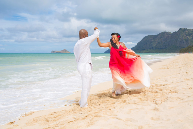 How to plan a Hawaii Beach Elopement / Wedding in 30 days or less.