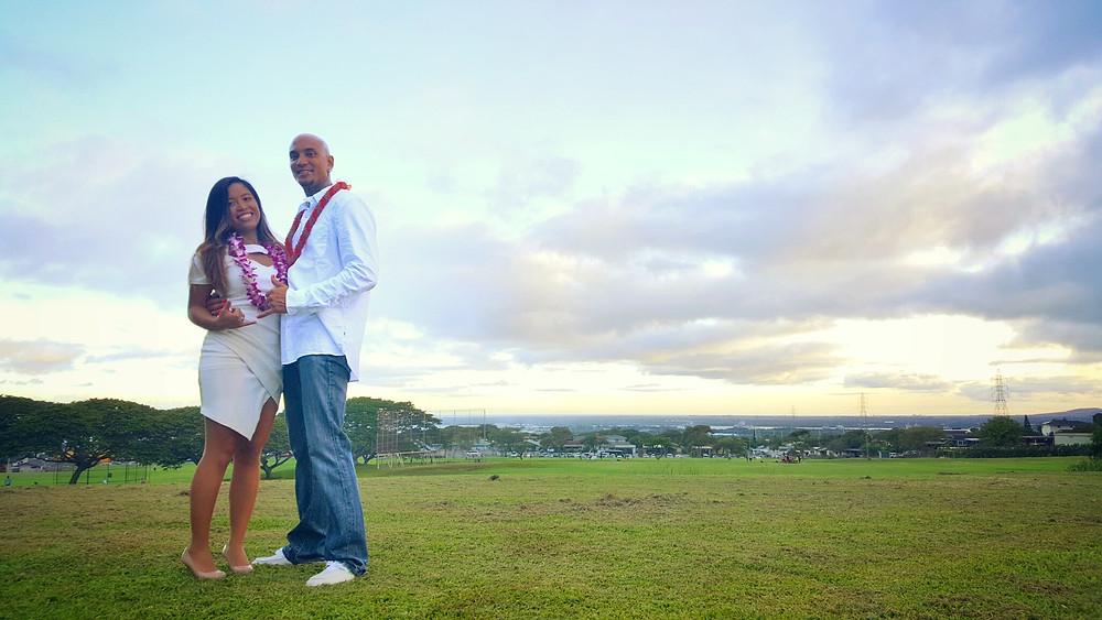 Waiau District Park Wedding in Hawaii