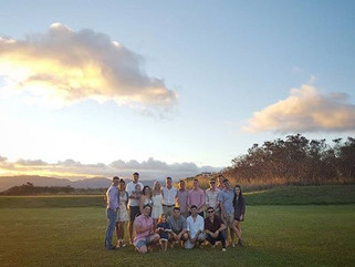 Sunset Wedding Elopement in Aiea