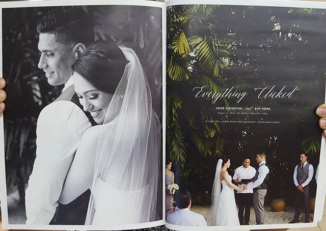 Featured Wedding in Hawaii Wedding Style Magazine