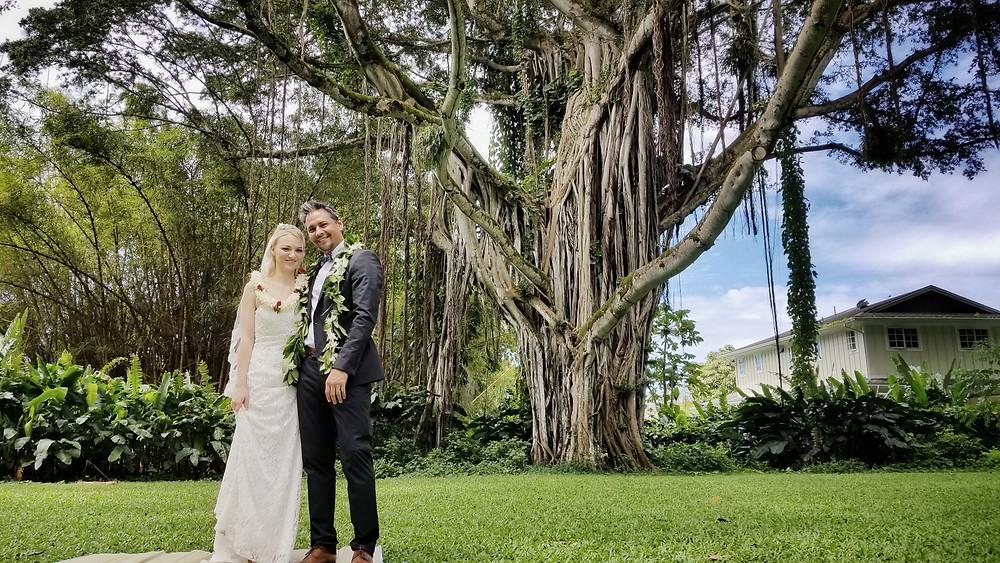 Quick Hawaii Wedding Elopement