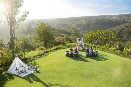 Manana Hills Estate - Ceremony Lawn
