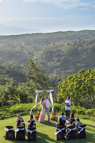 Manana Hills Estate Wedding Elopement in Hawaii