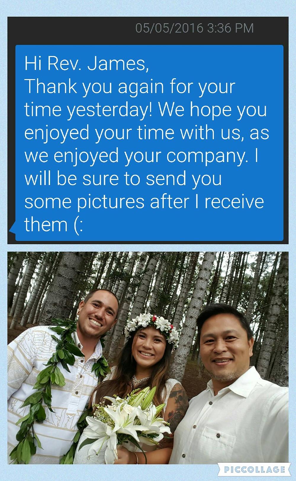 Civil Wedding at Aiea Loop Trail