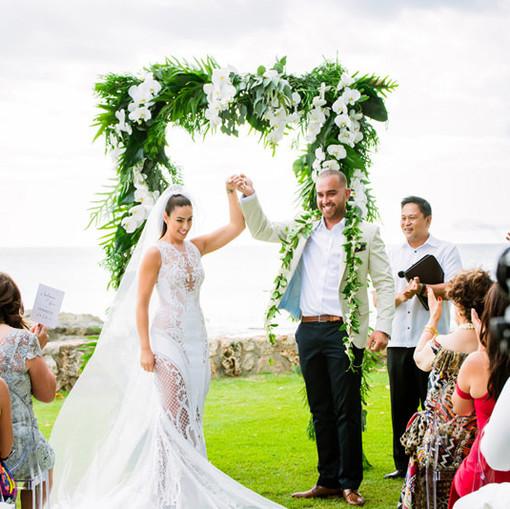 Beachfront Wedding in Hawaii