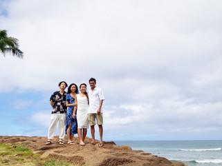 Another Happy Elopement in Honolulu -Magic Island