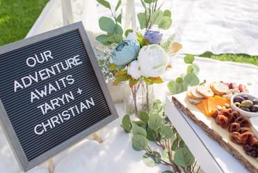 Manana Hills Estate - Wedding Picnic