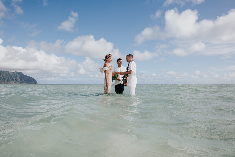 Private Elopement ceremony in Hawaii