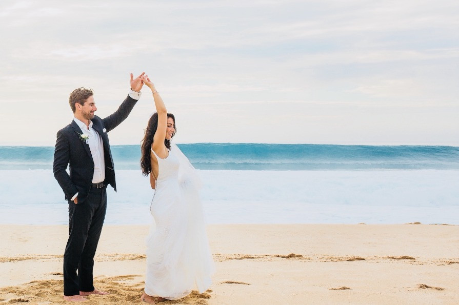 Beach wedding in Hawaii