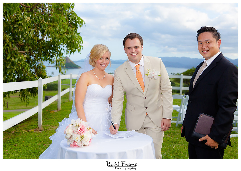 Hawaii Wedding Package at Kualoa Ranch