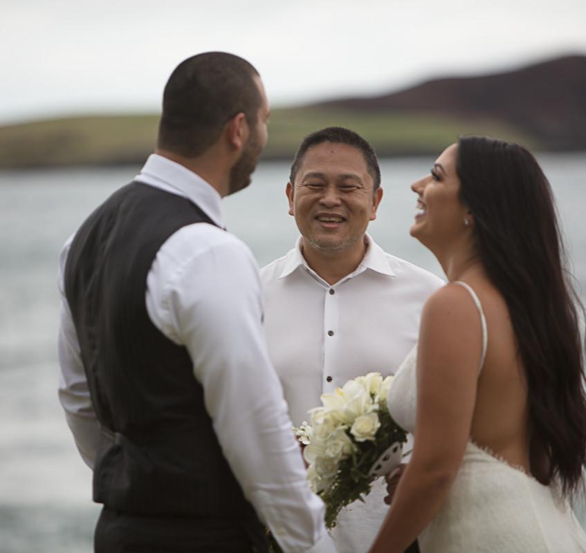 Destination Hawaii Wedding Elopement