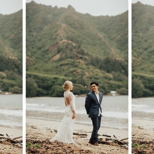Kualoa Mountains Wedding