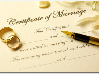 Do I need a witness for my marriage?