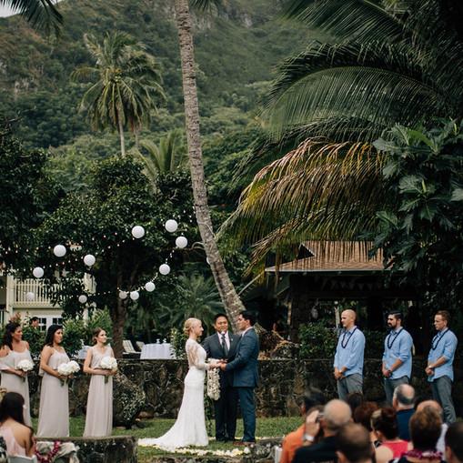 Hawaiian Destination Wedding