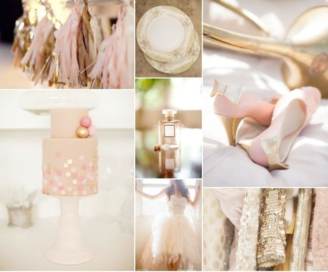 2016 Wedding Trends : Shades of metallic