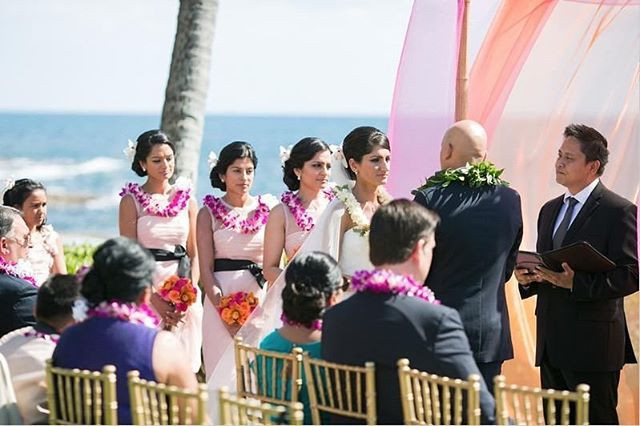Hawaii Wedding at Four Seasons