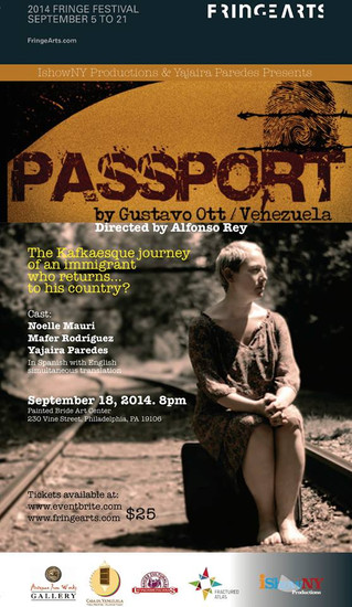 Passport at Fringe Festival Philadelphia