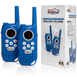 All New 3 Channel Digital Walkie Talkies!