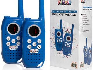 All New 3 Channel Digital Walkie Talkies!