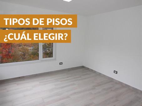 Tipos de pisos, ¿Cuál elegir?