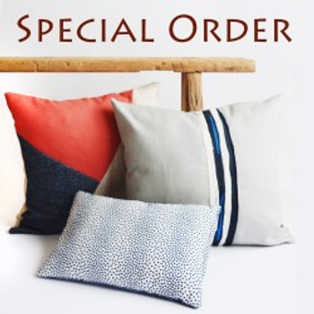 Custom Order for Savannah