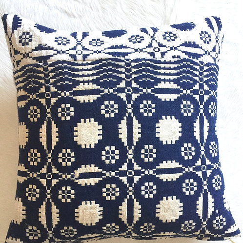 Vintage Woven Handcrafted Pillow Cover - Artisan- One of a kind