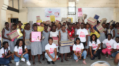 Fanthonio Foundation Distributes 4,000 Sanitary Products to Girls in Senior High Schools Across Ghan