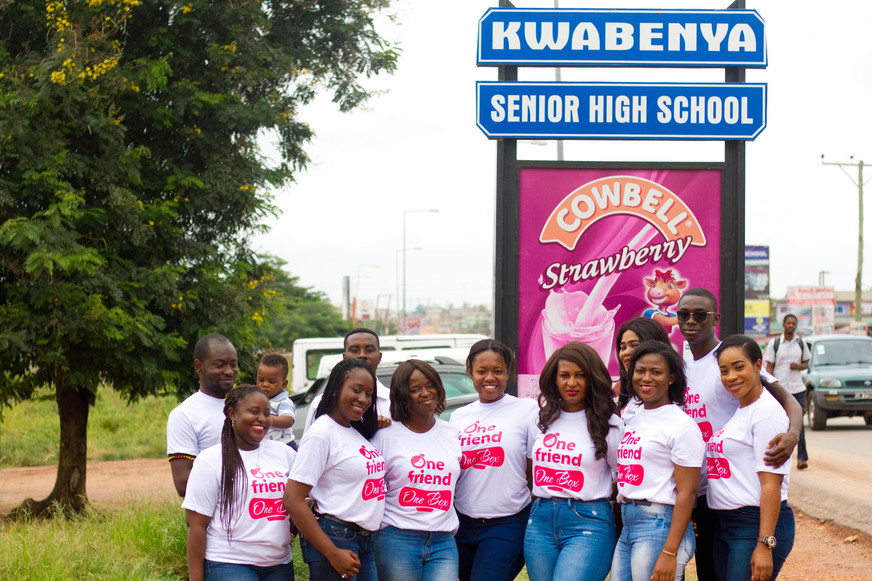 Girl-Empowerment Advocacy Group Donates 100 Boxes of Sanitary Pads to Students in Ga East Municipali