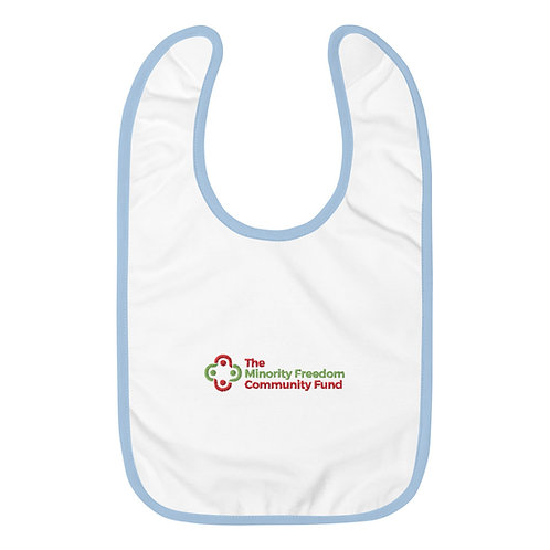 MFCF Embroidered Baby Bib