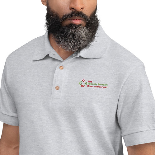 MFCF Embroidered Polo Shirt