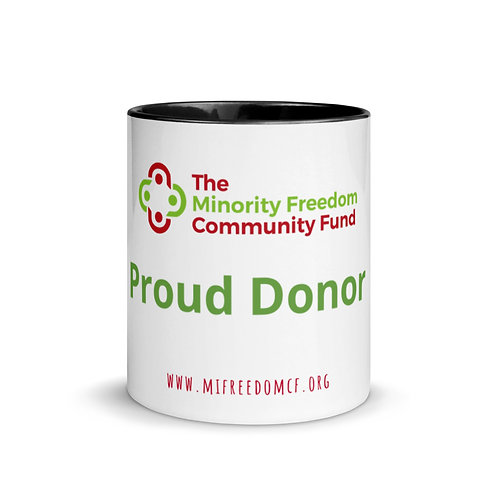 MFCF Proud Donor Mug with Color Inside