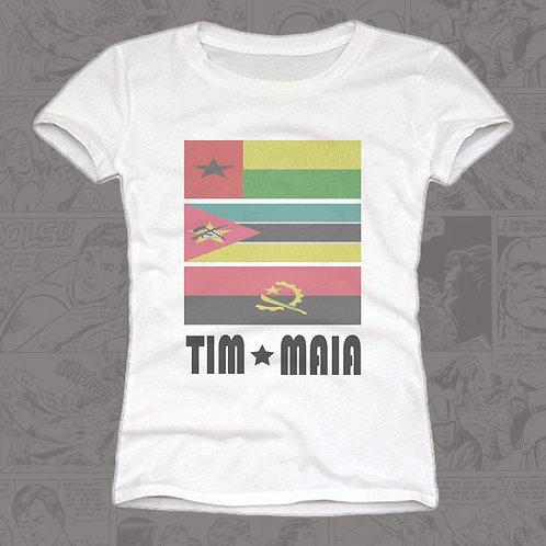 Tim Maia Bandeiras - Feminina