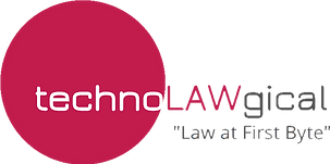 Logo for technoLAWgical: a law practice for the innovators of tomorrow