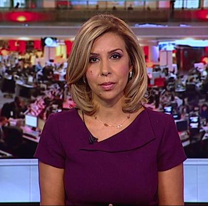 Wafa Zaiane: TV newsreader, program presenter and field reporter working for BBC World Service (Arabic Department) since 2003, covering different areas of Middle East and North Africa current affairs.  Contact: Wafa.zaiane@britishtunisiansociety.org