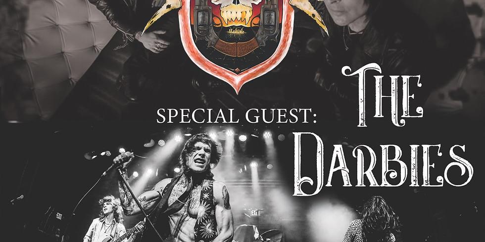 LA Guns & The Darbies Live @Bossanova Ballroom. Portland, OR